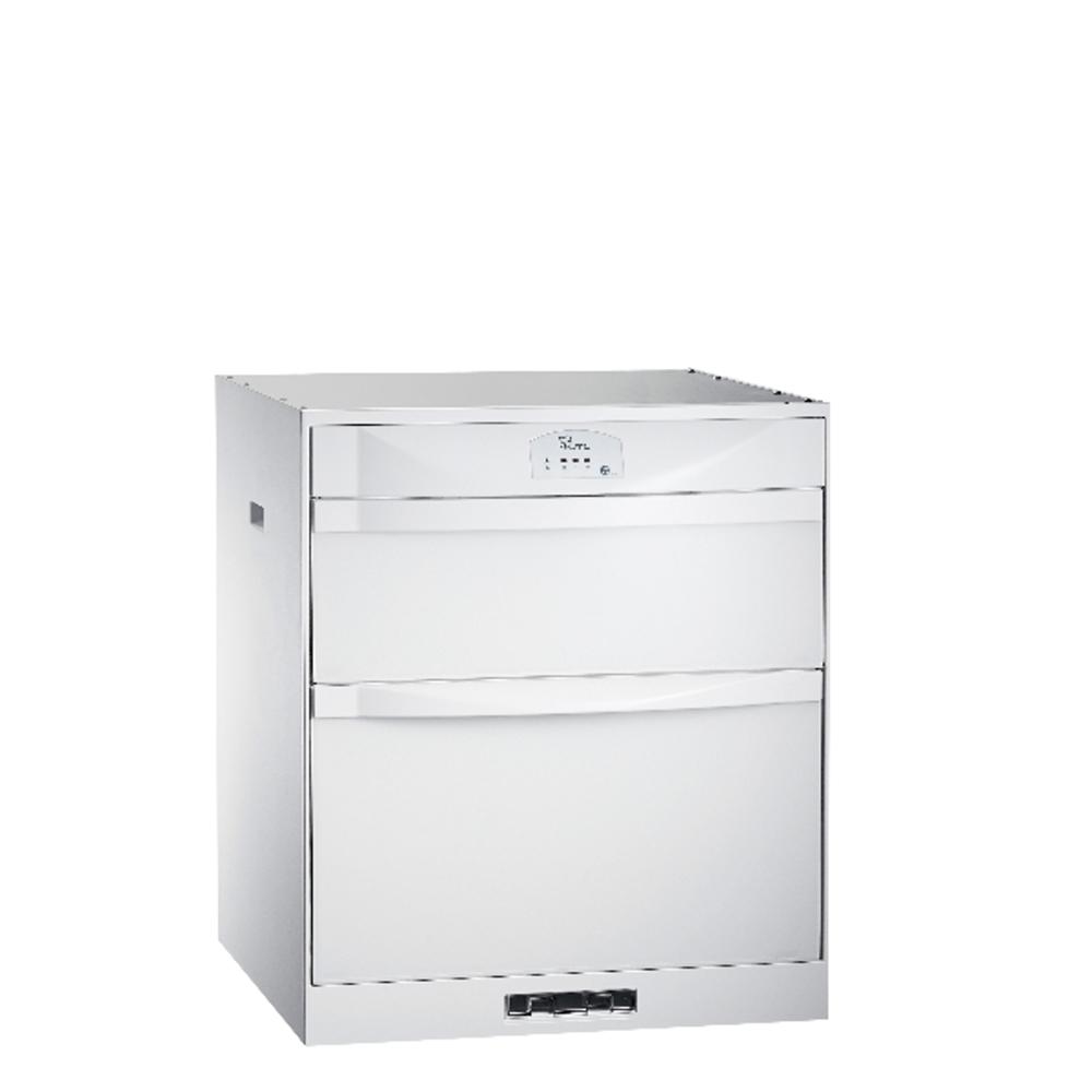 (全省安裝)喜特麗60公分臭氧型鋼琴烤漆嵌入式烘碗機白色JT-3166QGW
