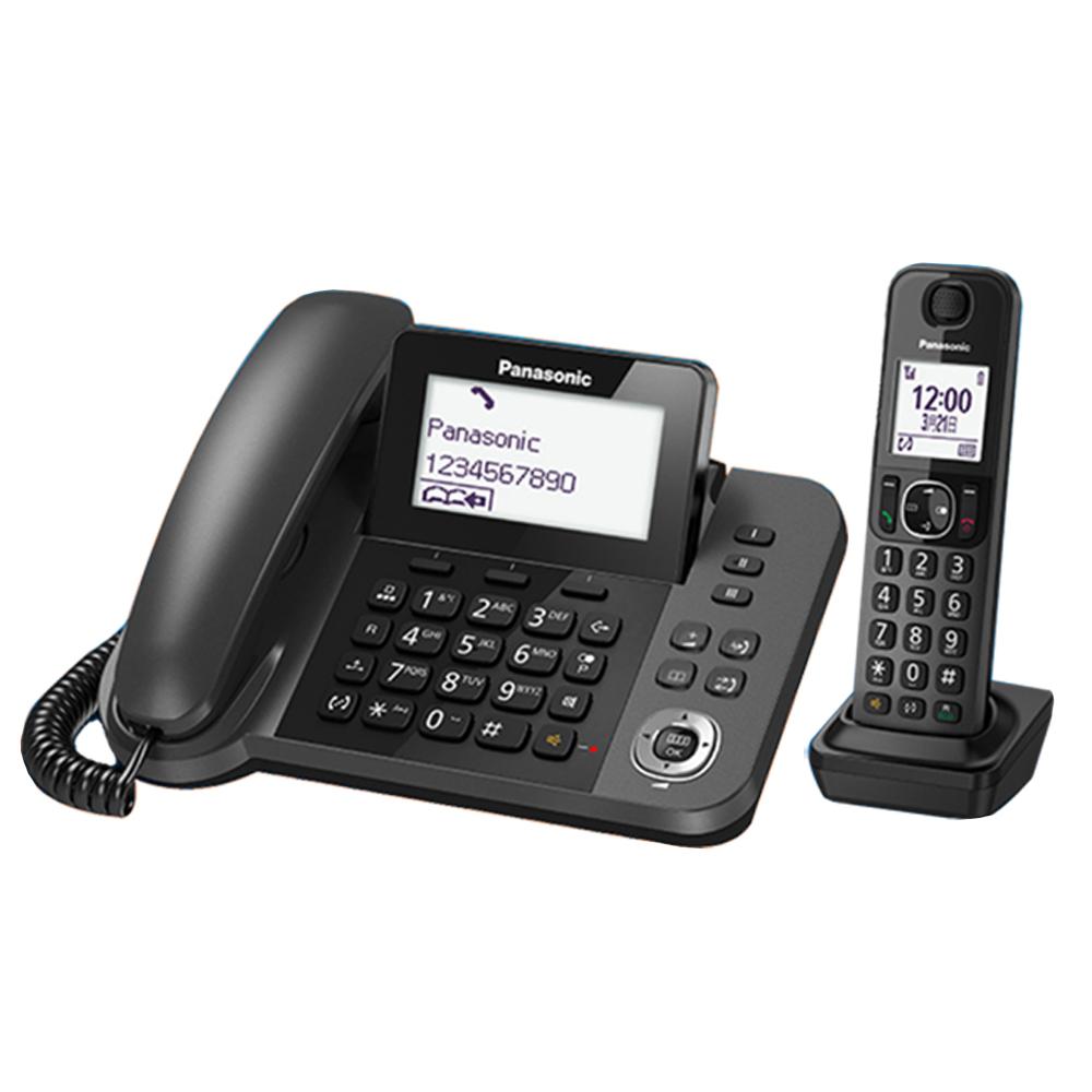 【日本製贈負離子梳】Panasonic 國際牌 KX-TGF310TW 親子機DECT數位無線電話