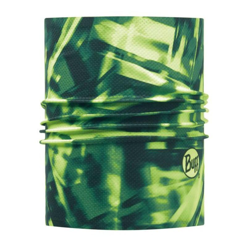 【西班牙 BUFF】螢綠幻影 銀離子抗菌快乾頭盔巾