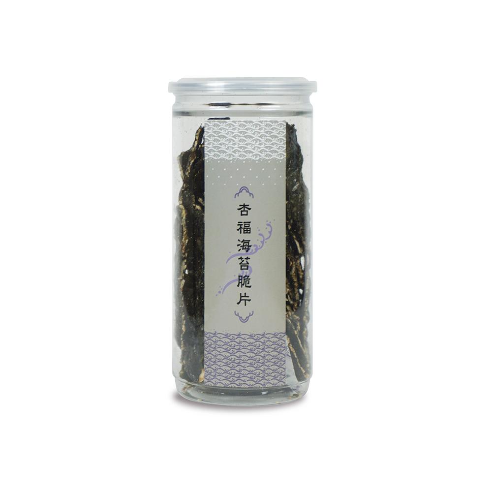 【棗到杏福】杏福海苔脆片 120g x2入