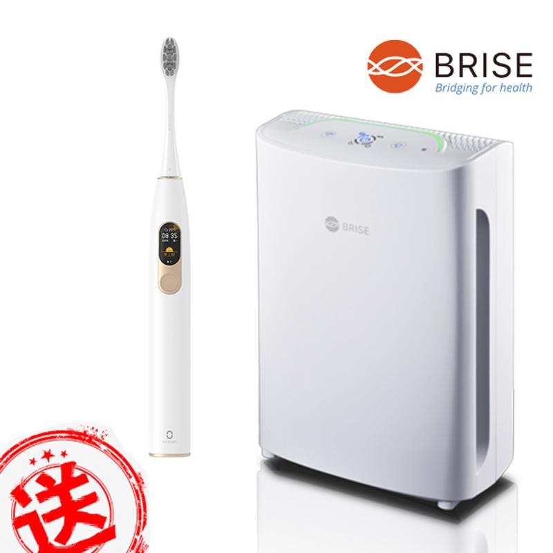 (買就送電動牙刷)BRISE C200 全球第一台人工智慧醫療級空氣清淨機(原廠公司貨)單機版