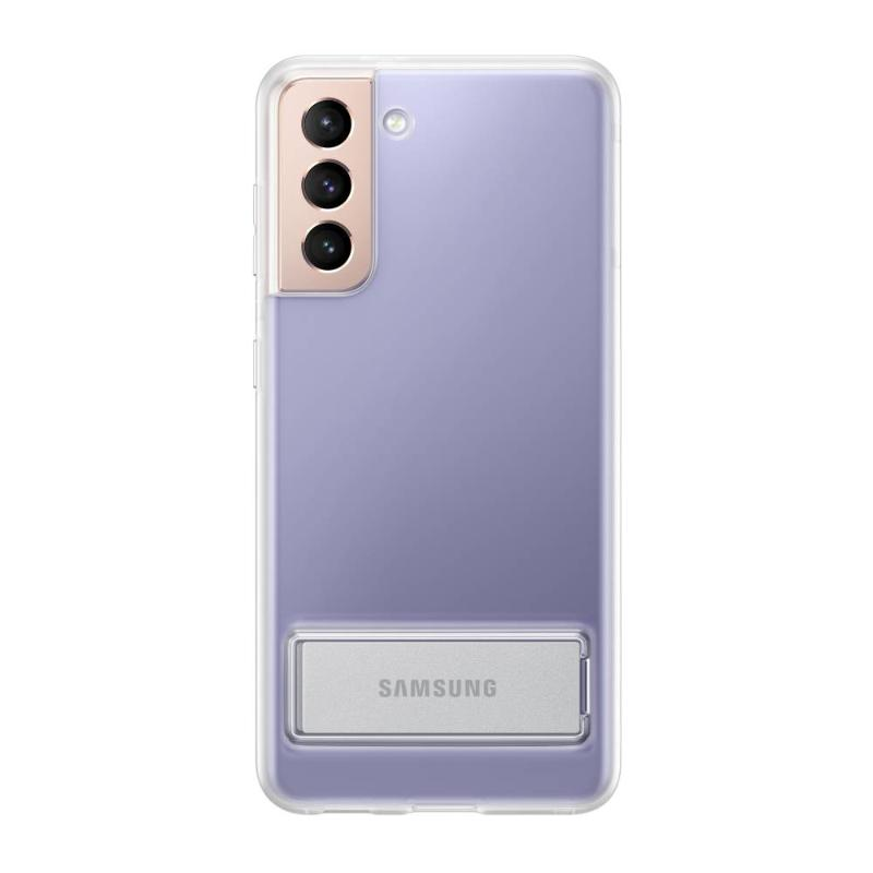 SAMSUNG Galaxy S21 5G 透明立架式背蓋 透明