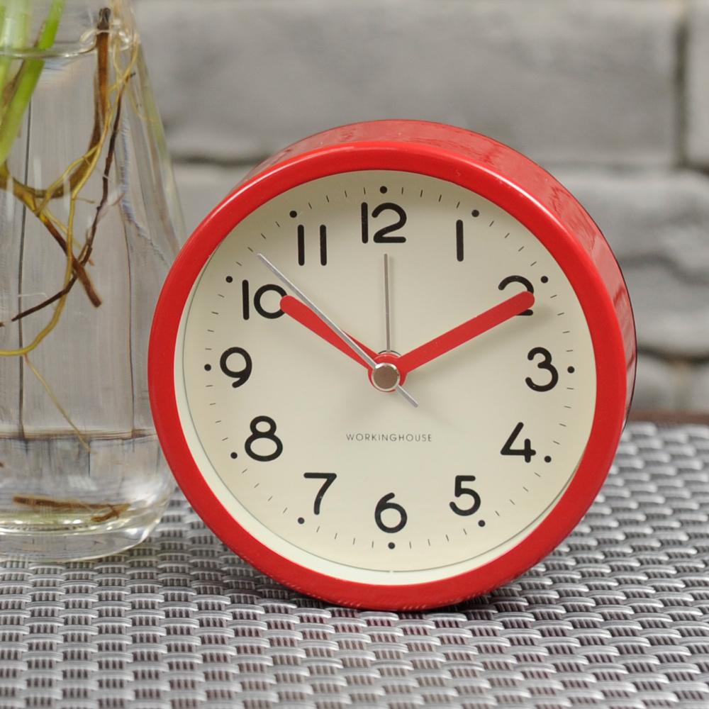 Modern RED掃秒鬧鐘-生活工場