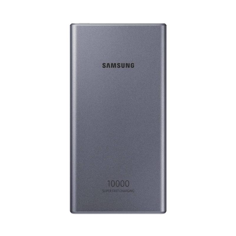 SAMSUNG 雙向閃充行動電源 10000/25W/Type C 銀-P3300