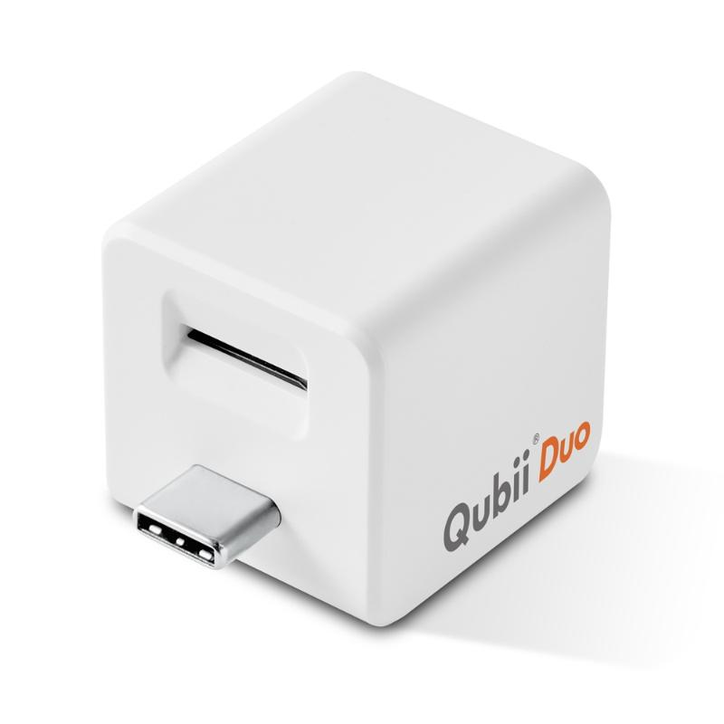 QubiiDuo雙用備份豆腐USB C(適用iOS及Android)
