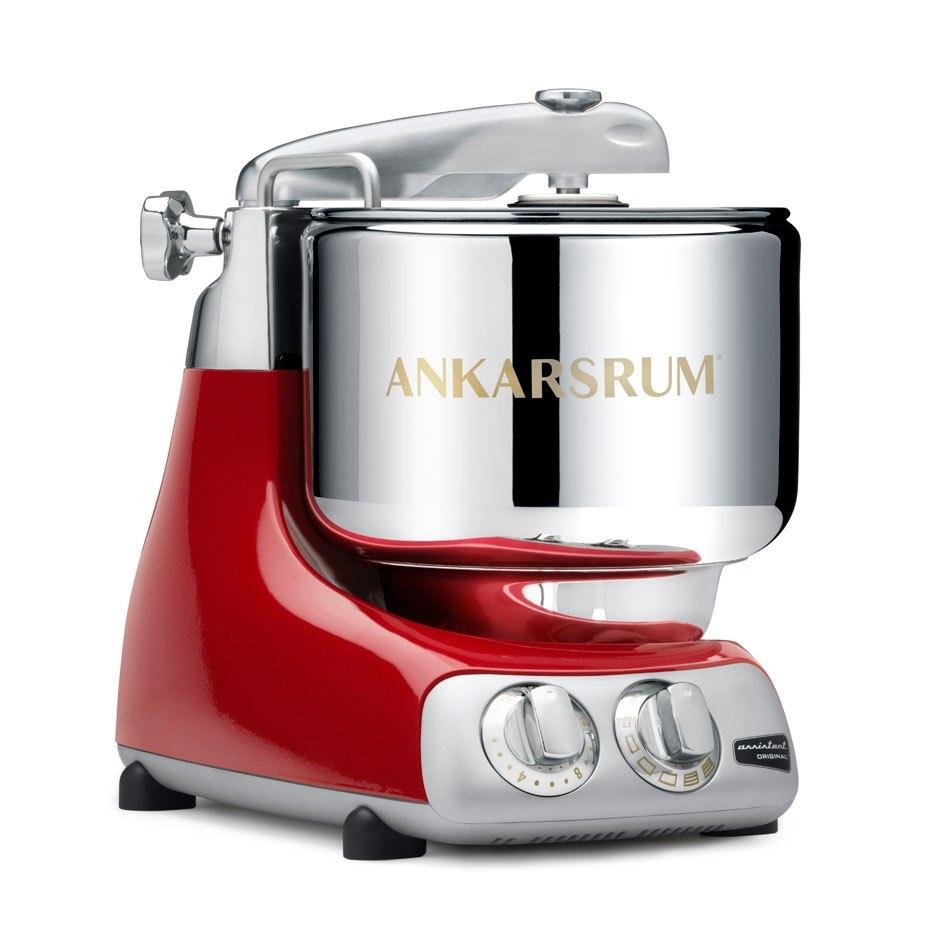 (獨家:贈玻璃快煮壺)瑞典原裝【Assistent Original】頂級奧斯汀 7公升全功能桌上型攪拌機 AKM6230 (紅色)