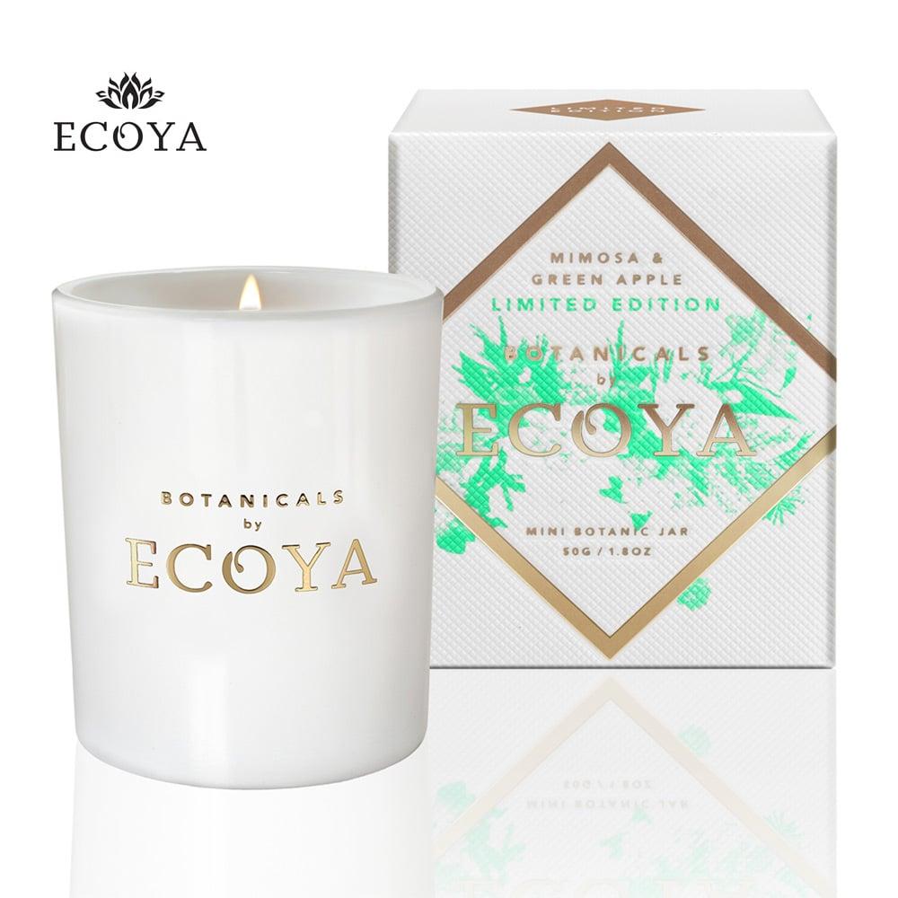 澳洲ECOYA 迷你水晶香氛蠟燭-果香草意 50g