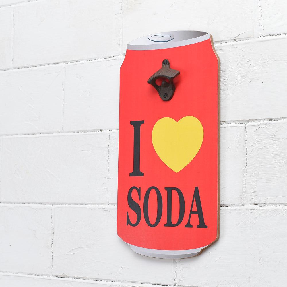 愛Soda開瓶掛飾-生活工場