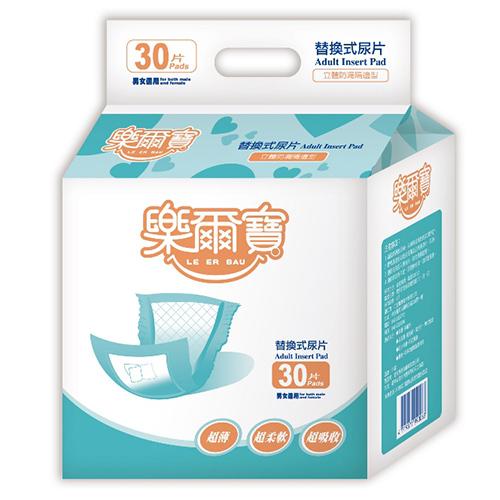 樂爾寶-成人紙尿片 替換式尿片145防漏隔邊型 (30片 x 10包)/箱