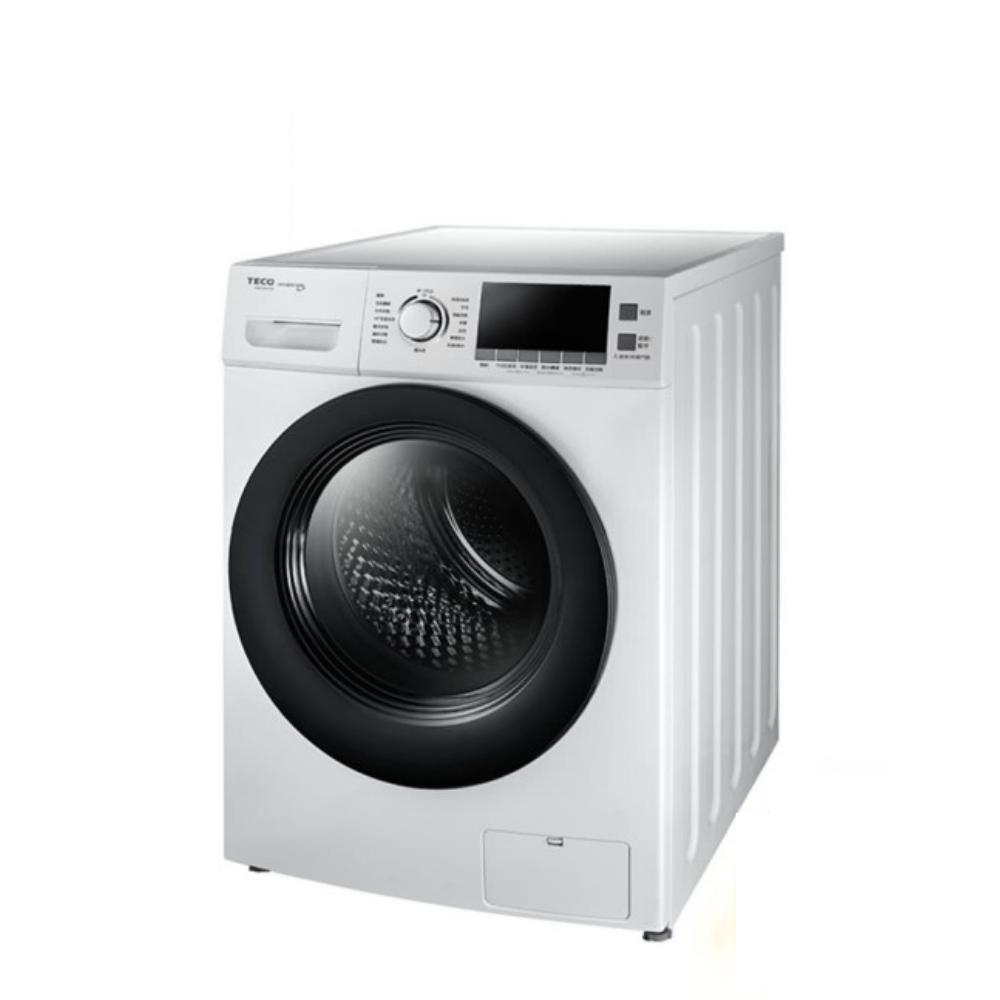 東元12公斤變頻滾筒變頻洗衣機白色WD1261HW
