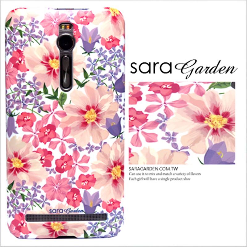 【Sara Garden】客製化 手機殼 SONY L2 馬卡龍雛菊 保護殼 硬殼