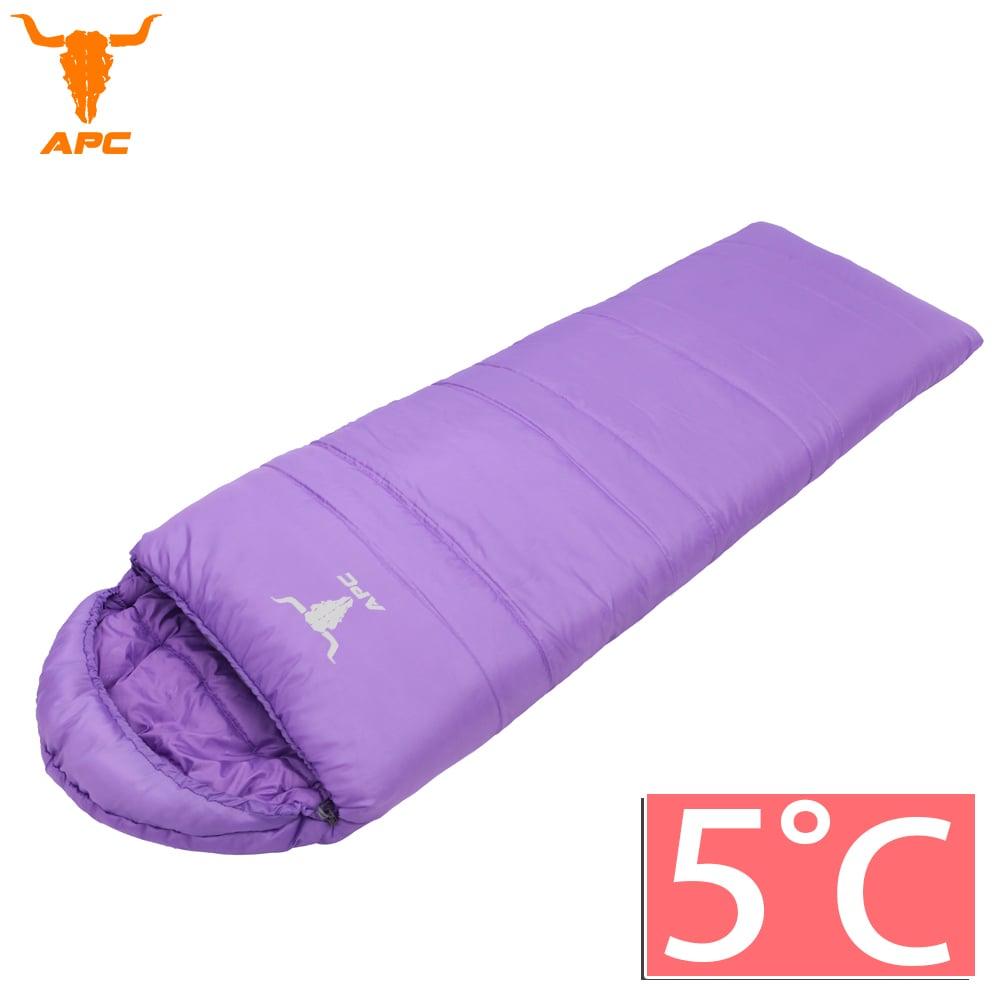 APC《馬卡龍》秋冬可拼接全開式睡袋-葡萄紫