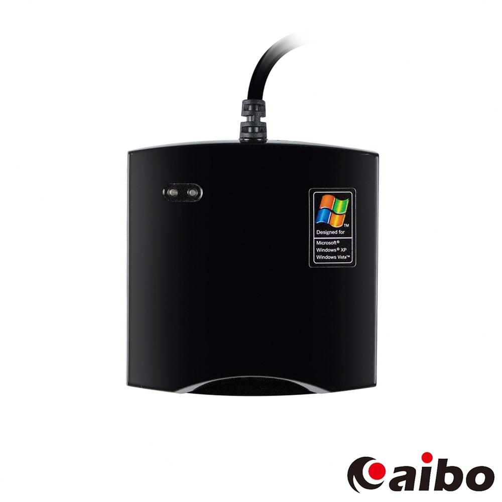 aibo IT-680U ATM晶片讀卡機-全黑