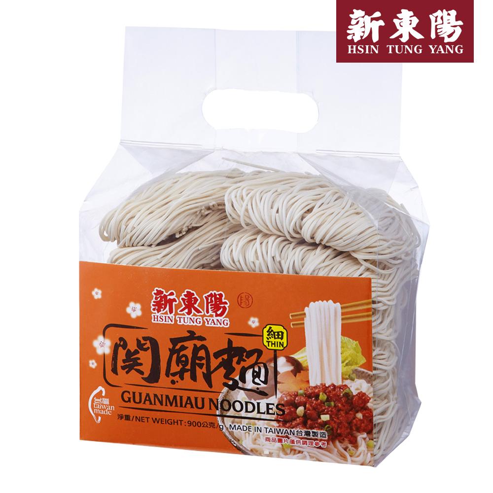 【新東陽】關廟麵-細(900g*6袋),免運