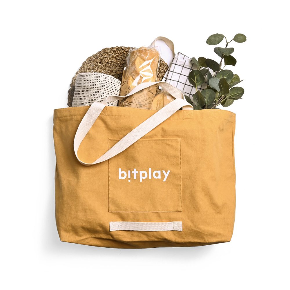 bitplay Oversize Tote Bag 超大容量托特包-卡其棕