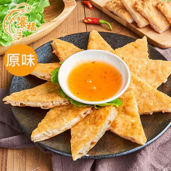 《饗福》月亮蝦餅(原味)(5片/盒)