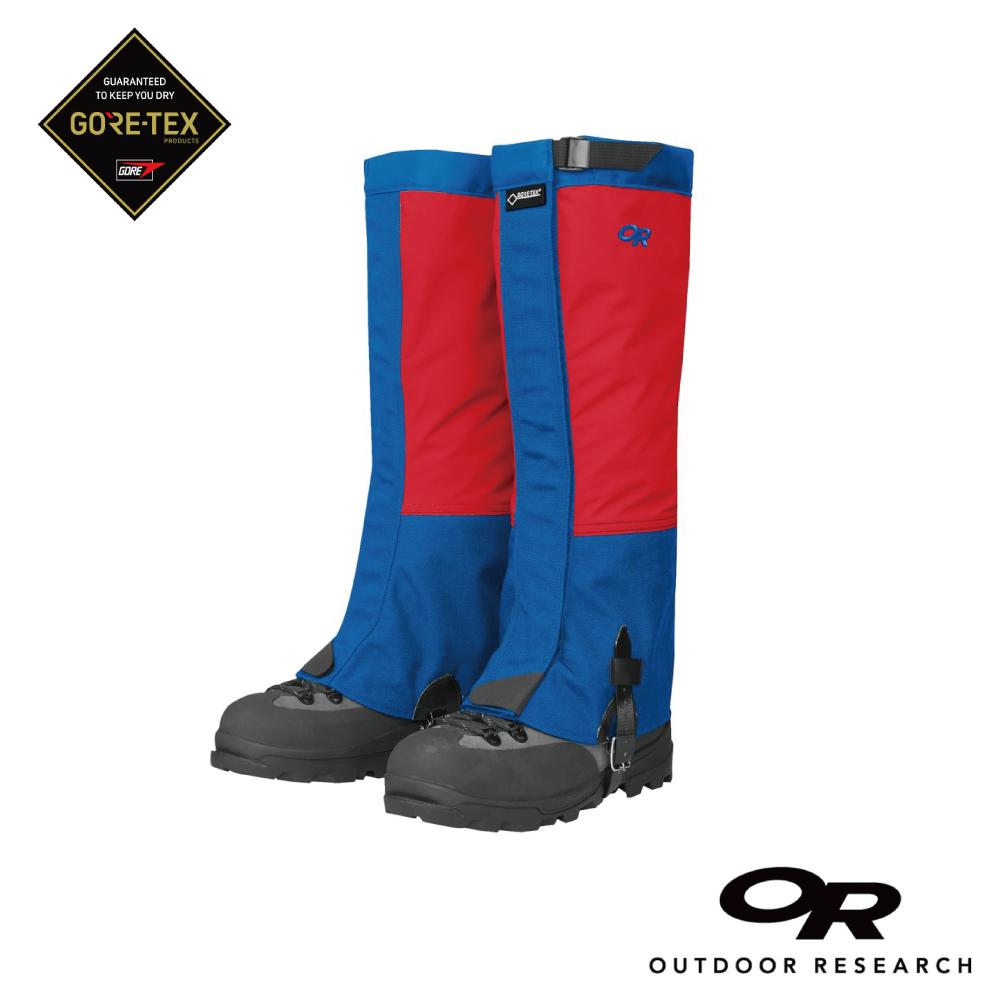 【美國Outdoor Research】男款Crocodile Gore-tex防水登山綁腿-紅藍M