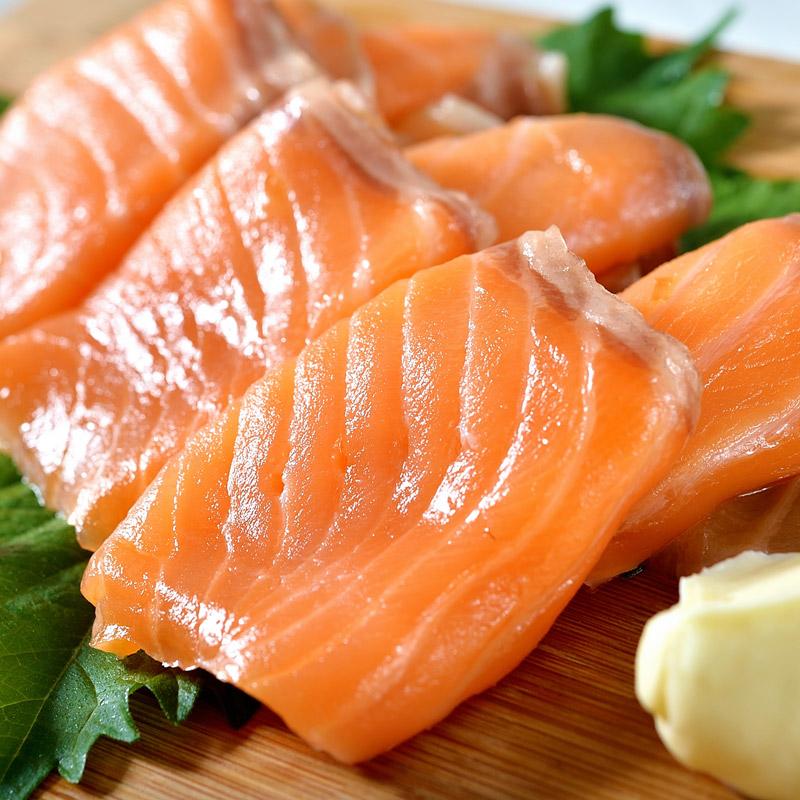 【鮮綠生活】頂級智利冷燻鮭魚切片100g/包 共4包