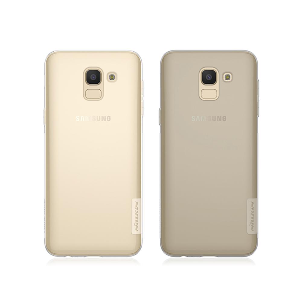 NILLKIN SAMSUNG Galaxy J6 本色TPU軟套(透白)