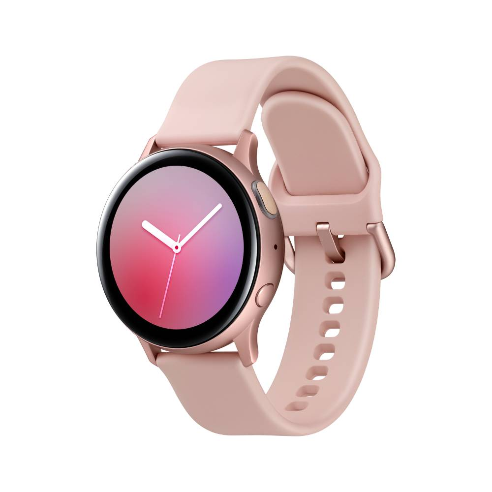 SAMSUNG Galaxy Watch Active2 GPS 藍牙智慧手錶 鋁製 40mm玫瑰金 R280