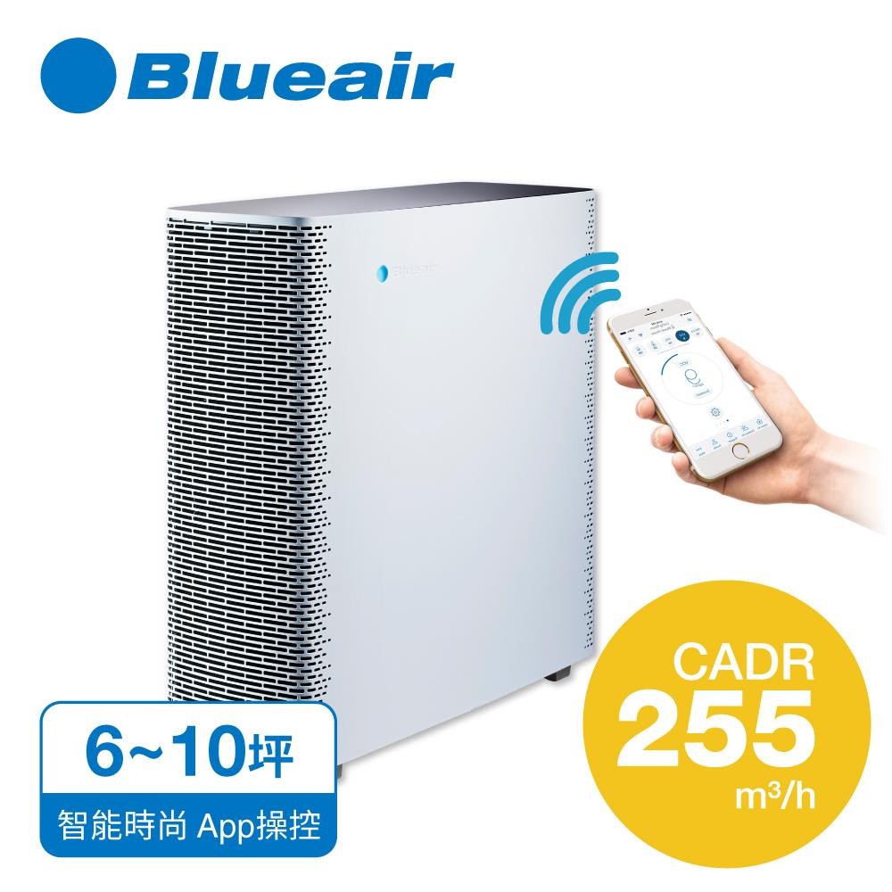 【瑞典Blueair】抗PM2.5過敏原 空氣清淨機 SENSE+ 時尚白 (6坪)