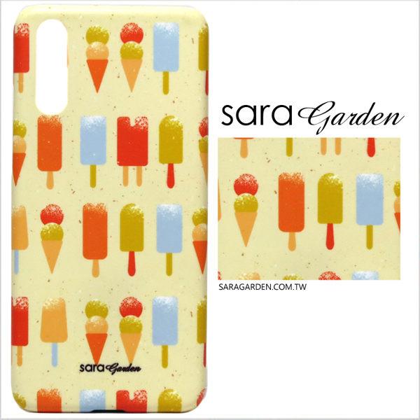 【Sara Garden】客製化 手機殼 SONY XA1 Ultra 保護殼 硬殼 手繪冰淇淋雪糕