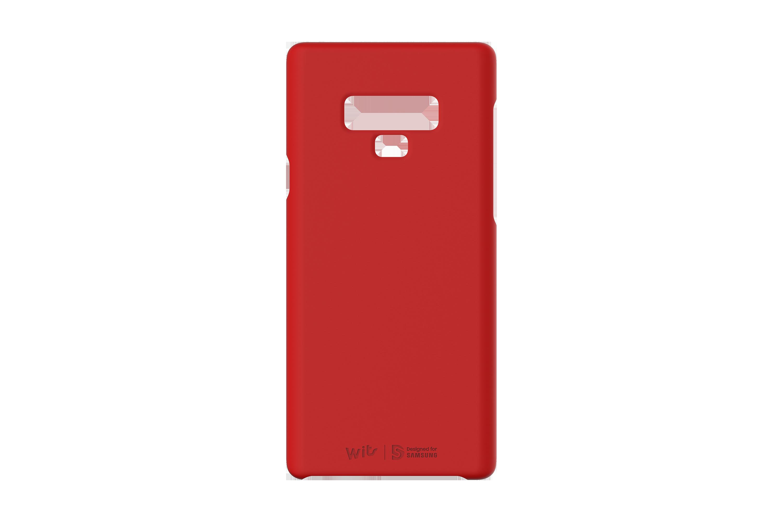 SAM Galaxy Note9 WITS 優質硬殼背蓋 紅