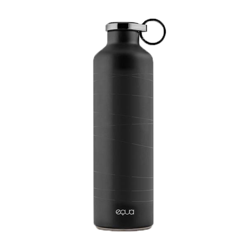 EQUA 歐洲極簡奢華保溫瓶-680ml 時軌黑(MR. MATT)