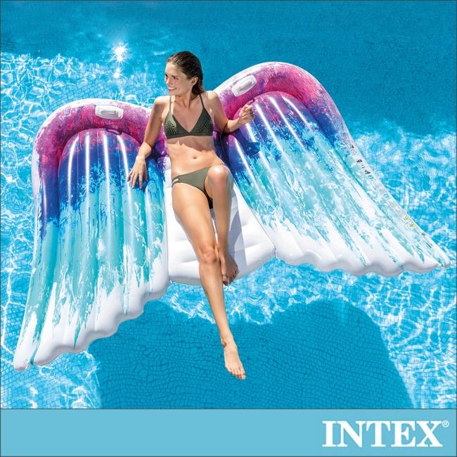 【INTEX】天使之翼雙人戲水浮排(58786)