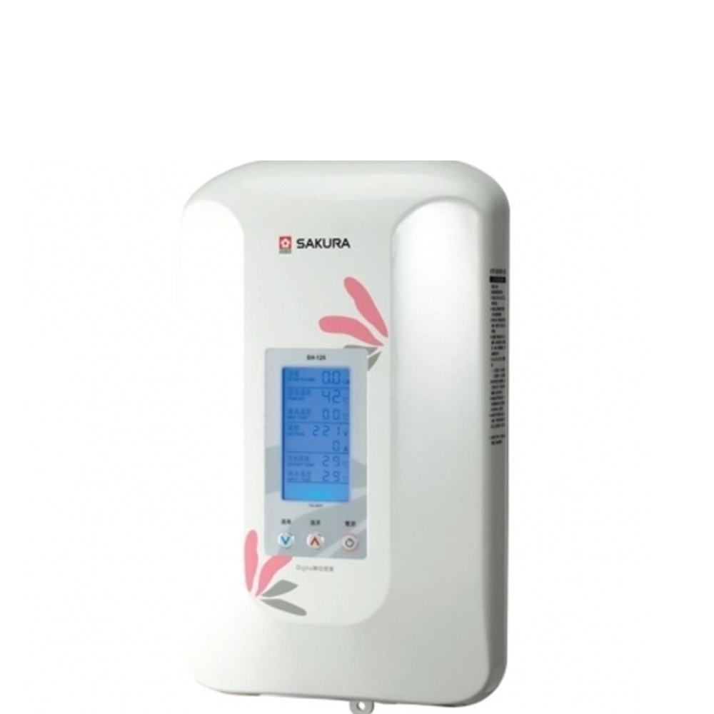 (全省安裝)櫻花即熱式數位恆溫瞬熱式電熱水器(與H125同款)熱水器瞬熱式SH-125