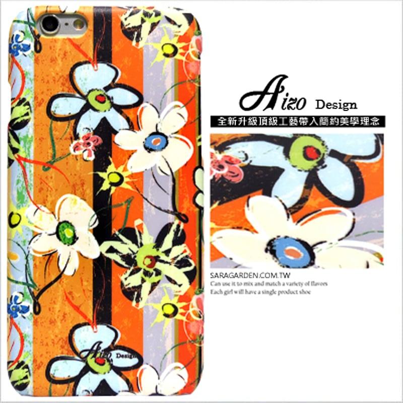 【AIZO】客製化 手機殼 蘋果 iPhone 6plus 6SPlus i6+ i6s+ 刷色 仿舊 花朵 圖騰 保護殼 硬殼