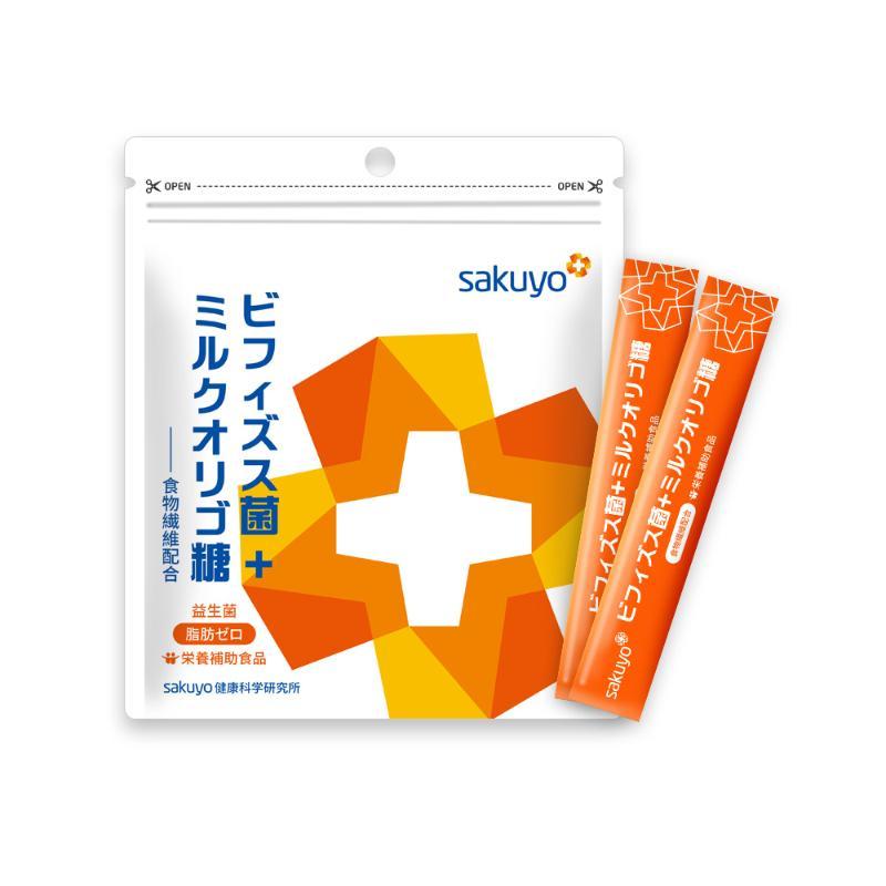 【週期購】sakuyo 比菲德氏菌+乳寡醣(30條/盒)