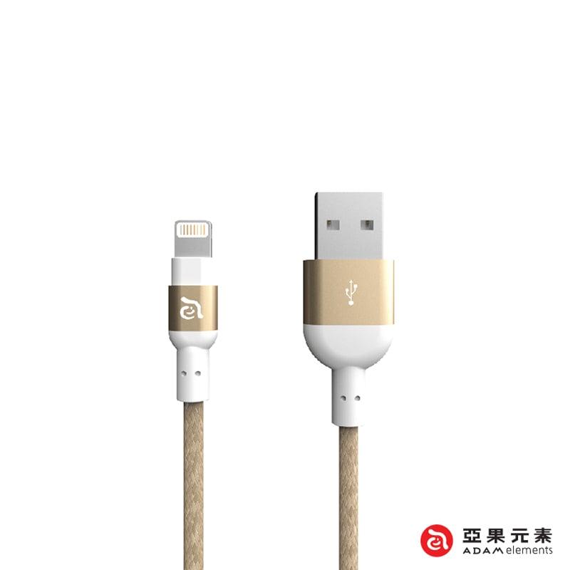 【亞果元素】PeAk II Lightning Cable 300B 金屬編織傳輸線 金