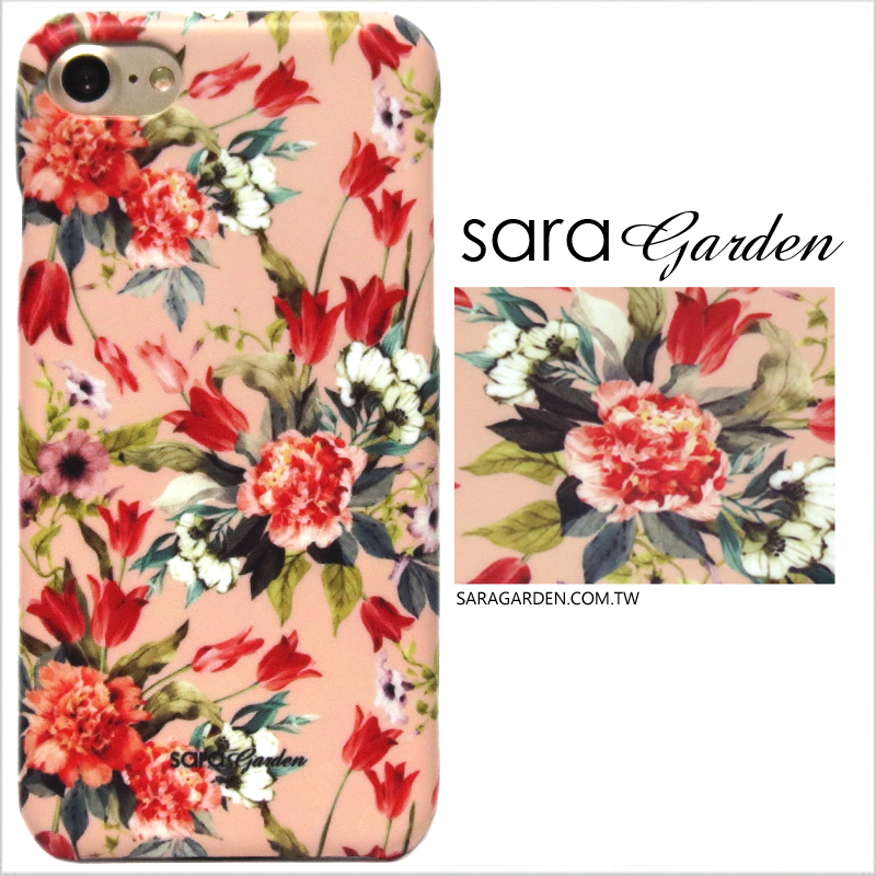 【Sara Garden】客製化 手機殼 ASUS 華碩 Zenfone2 laser 5吋 ZE500KL 玫瑰碎花 手工 保護殼 硬殼
