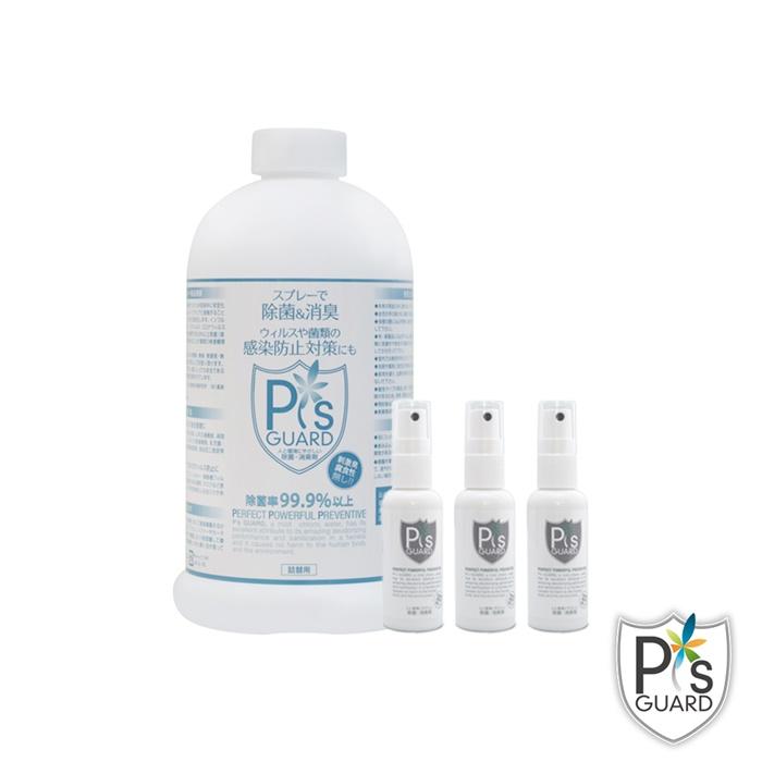 P`s GUARD 日常補充組 50ml Spray x 3pcs + 800ml