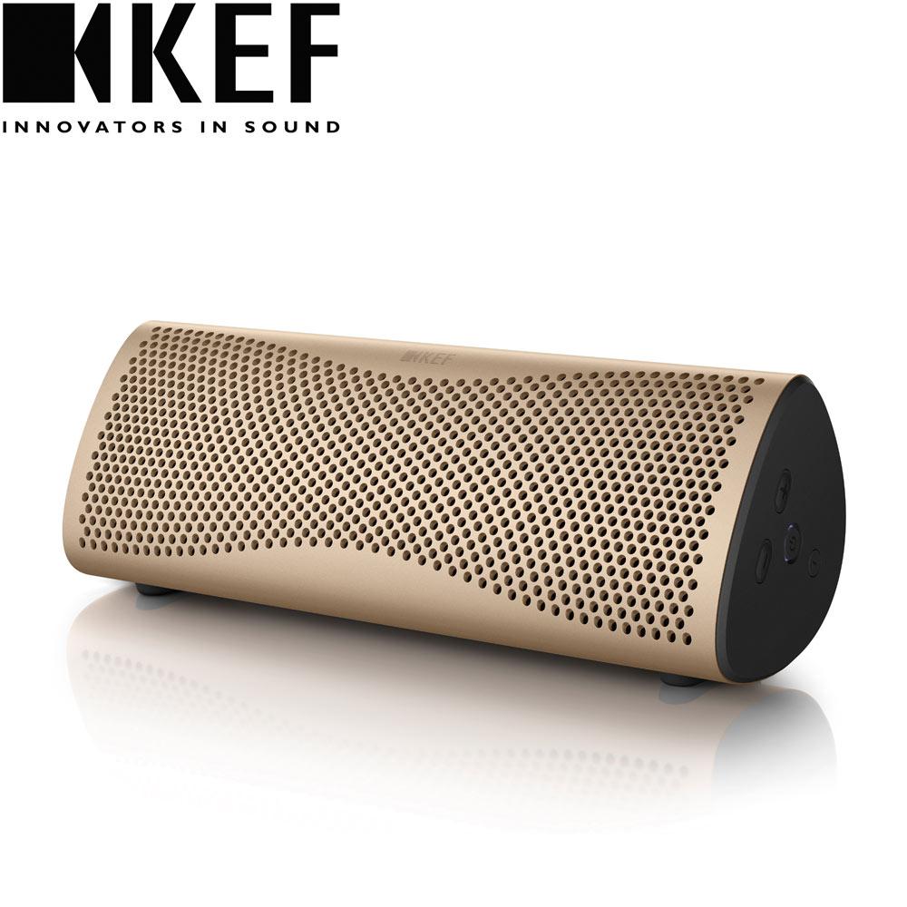 英國  KEF MUO 藍牙無線喇叭 - 金色