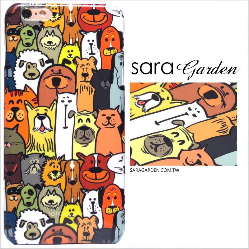 【Sara Garden】客製化 手機殼 蘋果 iPhone 12 Mini 狗狗 貓咪 毛孩子 大頭照 保護殼 硬殼