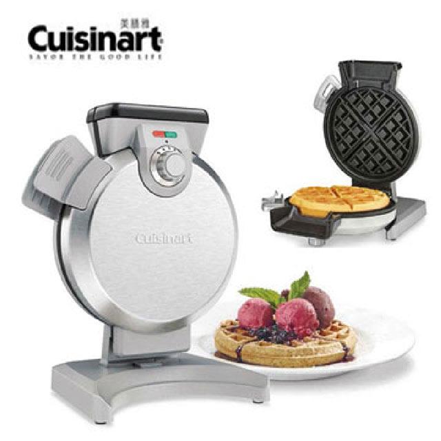 【美膳雅 Cuisinart 】 直立式鬆餅機 WAF-V100TW