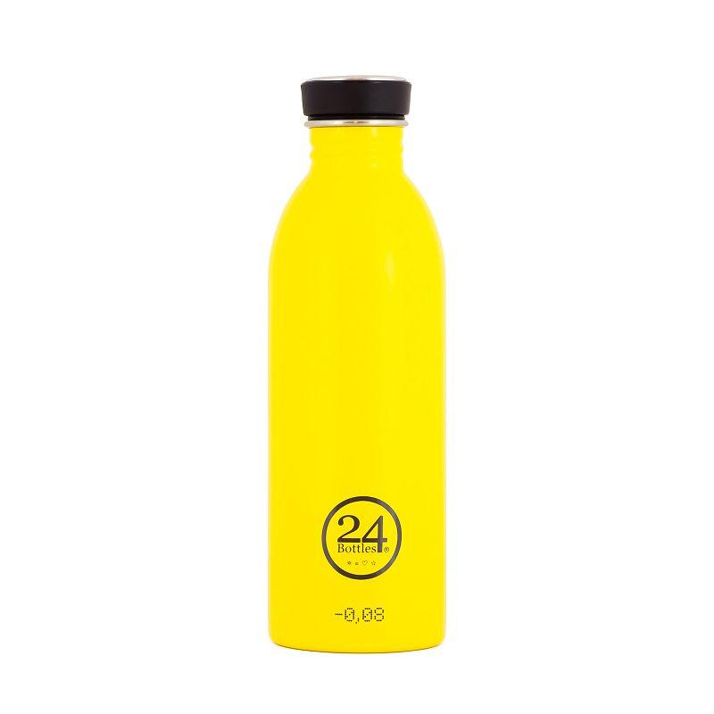 義大利 24Bottles 城市水瓶 500ml - 的士黃