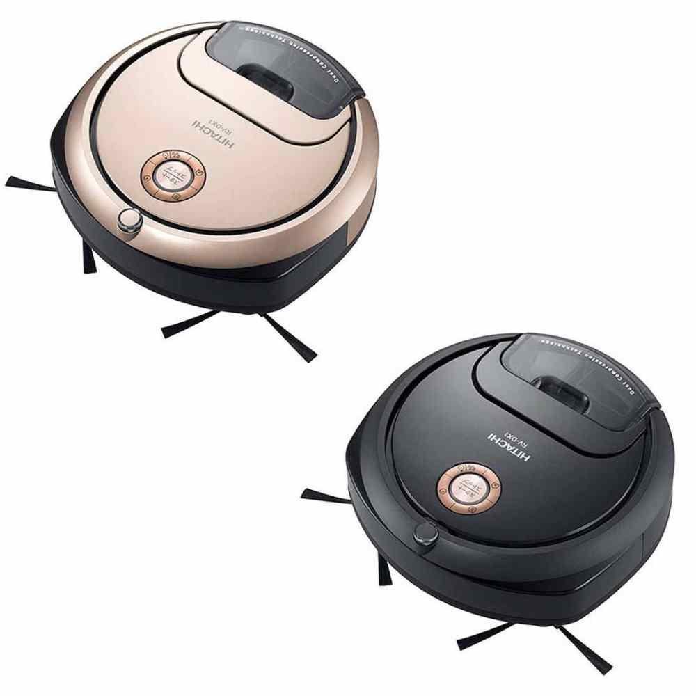 【HITACHI 日立】minimaru吸塵機器人(日本製)RV-DX1T星燦黑