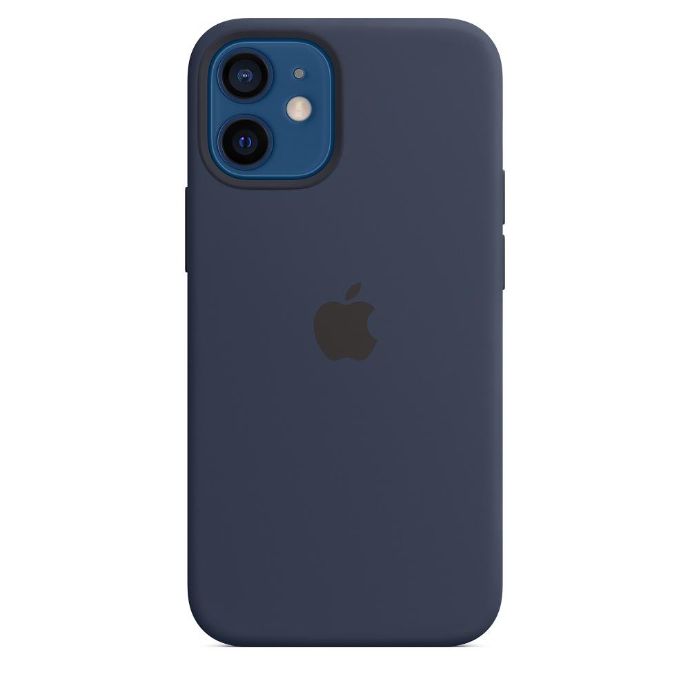 APPLEMagSafe 矽膠保護殼iPhone 12 mini 5.4 海軍深藍