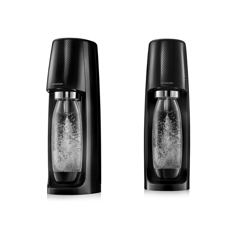 英國Sodastream Spirit 時尚風自動扣瓶氣泡水機 黑