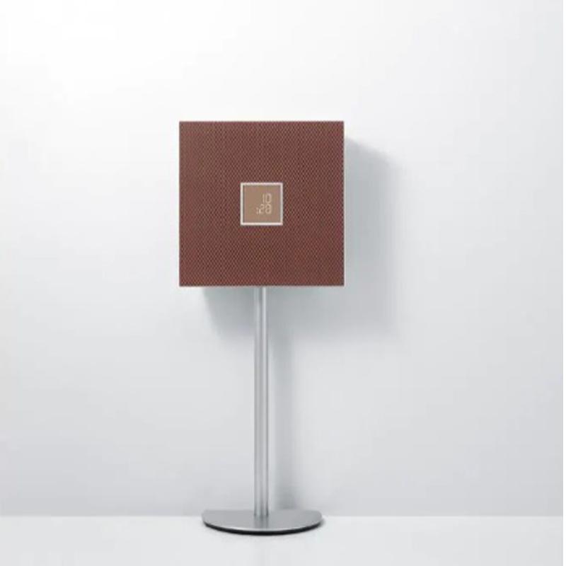 【YAMAHA 山葉】桌上型音響 ISX-803 Restio 磚紅色