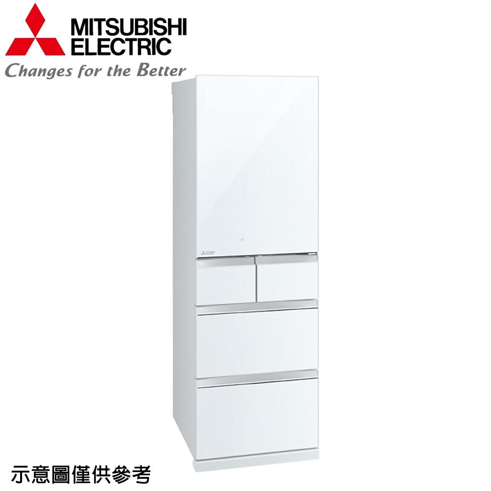 【MITSUBISHI 三菱】455公升日本原裝變頻五門冰箱MR-BC46Z-W