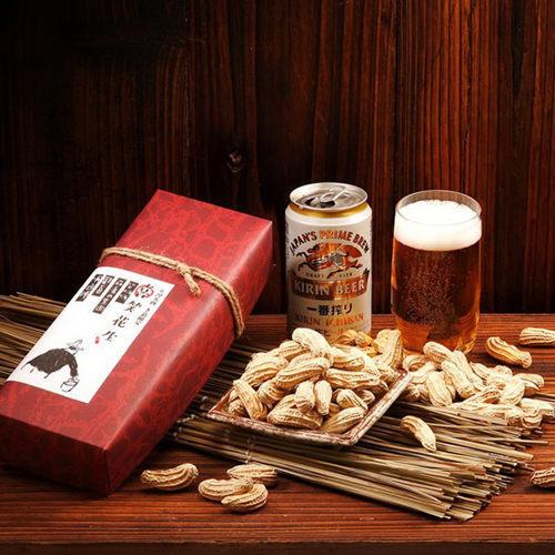 《喜笑花生》禮盒組 (附提袋) (160g/盒,共2盒)