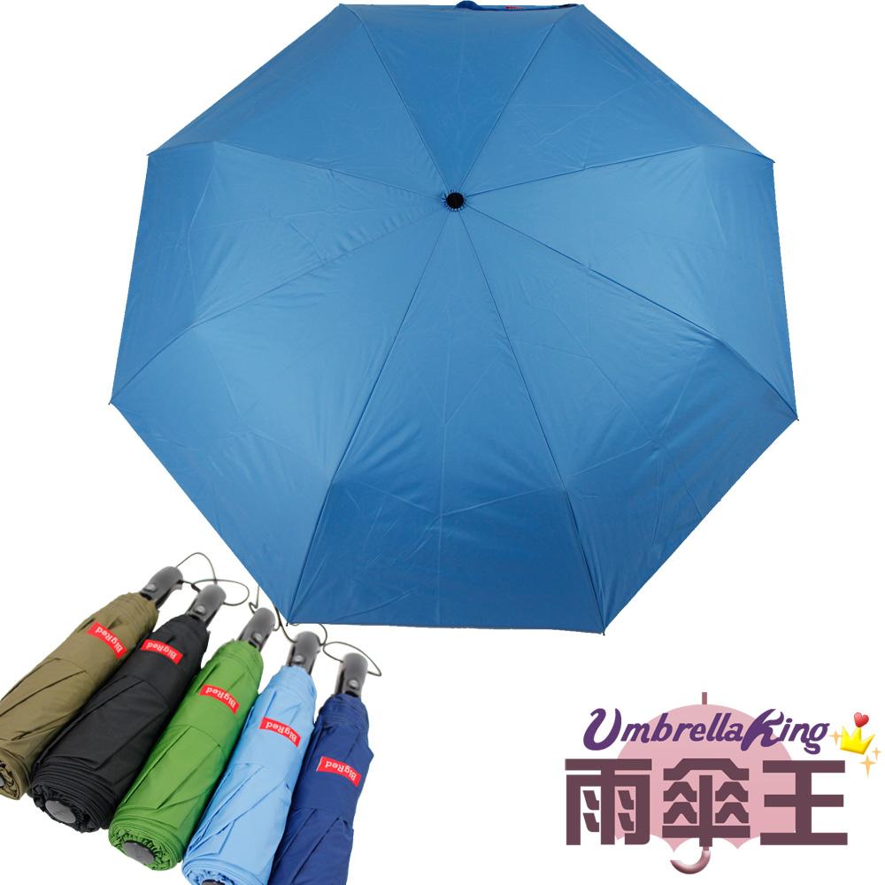 【雨傘王】BigRed 帳篷傘 - 水藍 (終身免費維修)