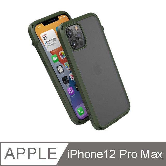 CATALYST iPhone12 Pro Max (6.7吋) 防摔耐衝擊保護殼●軍綠
