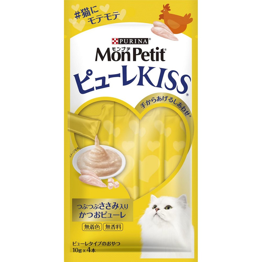 MonPetit 貓倍麗小鮮肉泥 10g*4條 6入 鮮鮪香雞口味