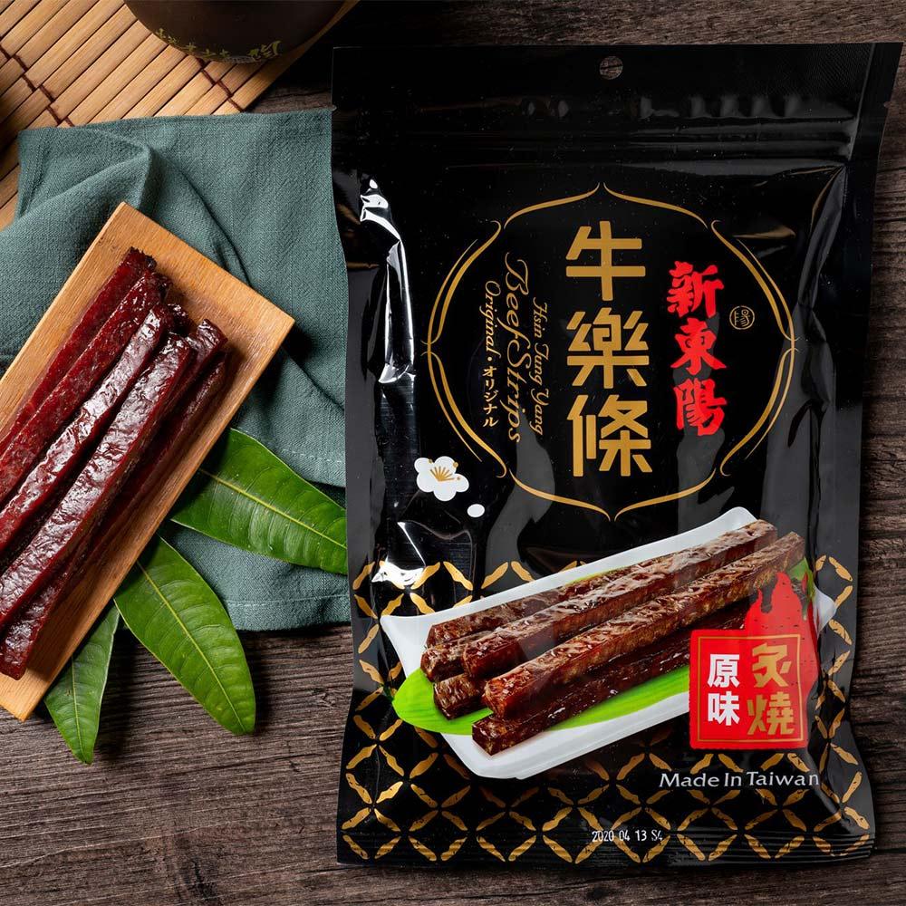 【新東陽】炙燒牛樂條-原味(150g*2包)