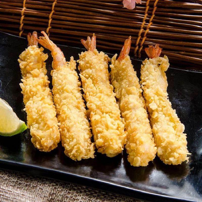 【鮮綠生活】年節餐桌必備!!日式黃金天婦羅炸蝦 (10尾/盒) 共5盒